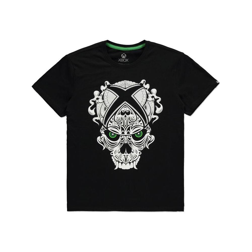 Microsoft Xbox T-Shirt Skull Size M