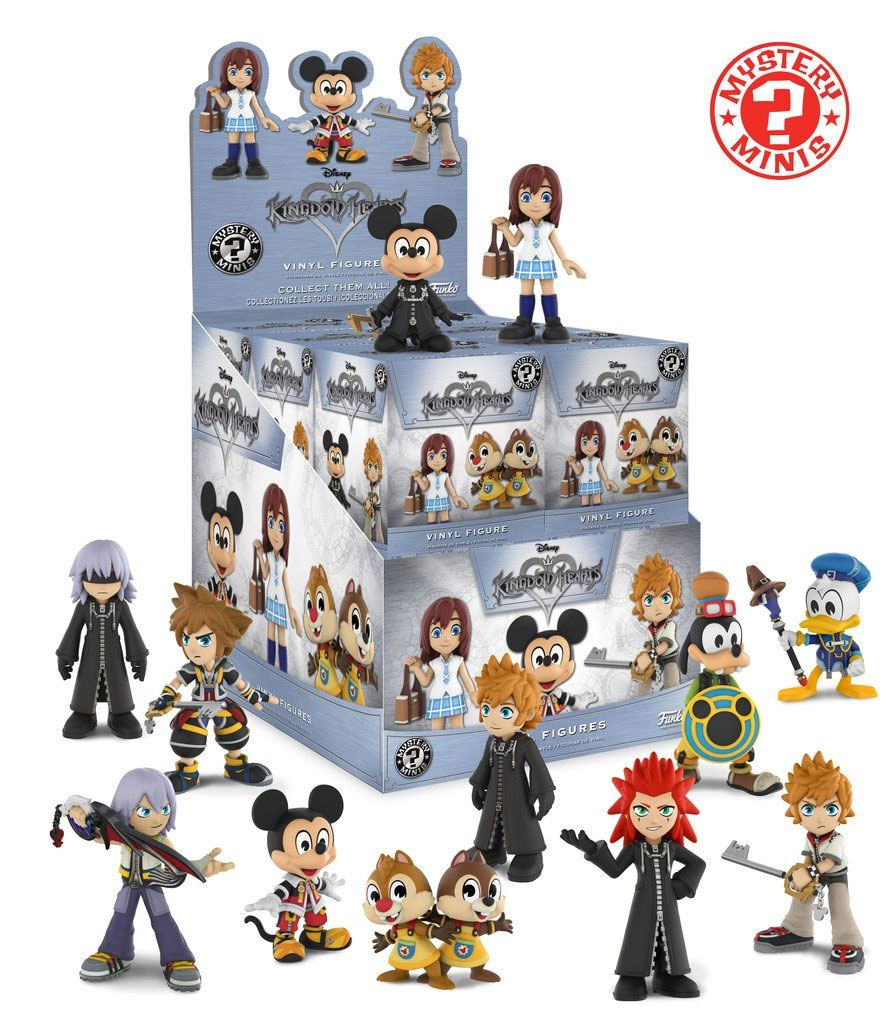 Kingdom Hearts Mystery Minis Vinyl Mini Figures 6 cm Display Classic (12)