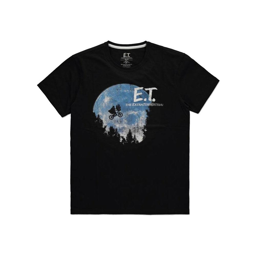 E.T. the Extra-Terrestrial T-Shirt The Moon Size L