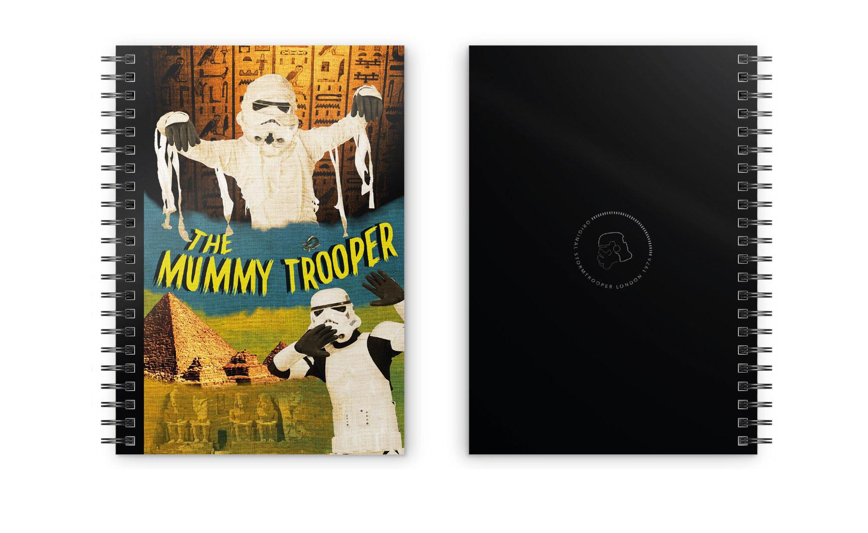 Original Stormtrooper Notebook Mummy Trooper