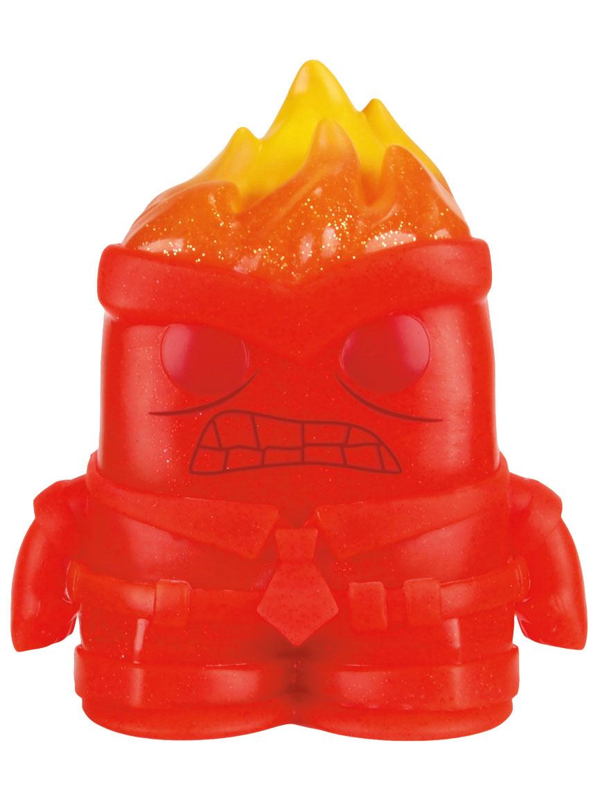 Inside Out POP! Vinyl Figure Anger Crystal 7 cm