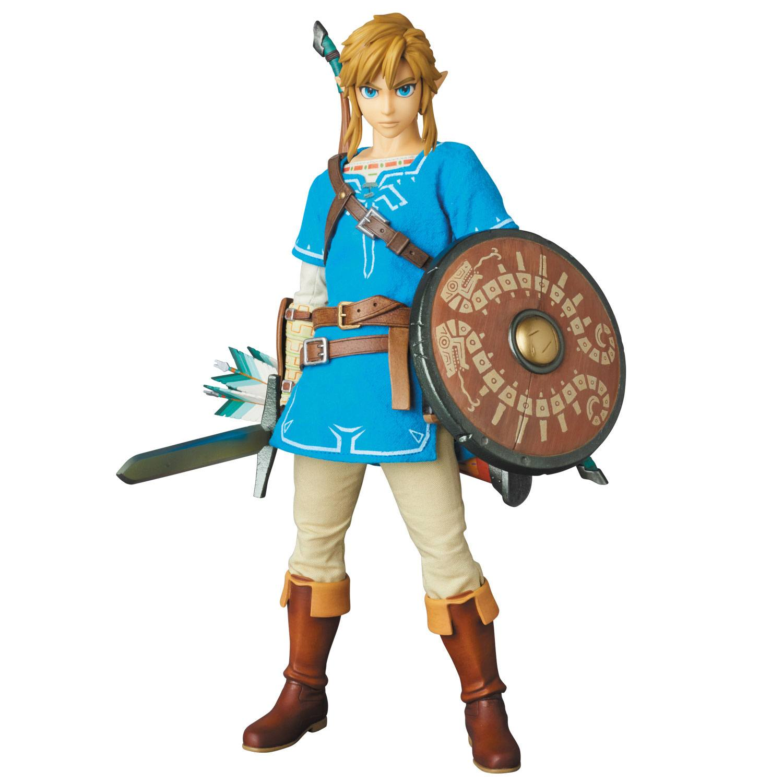 The Legend of Zelda Breath of the Wild RAH Action Figure 1/6 Link 30 cm