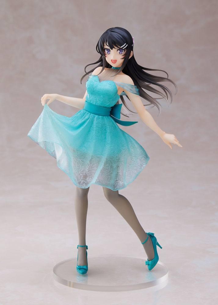 Rascal Does Not Dream of Bunny Girl Senpai PVC Statue Mai Sakurajima Clear Dress Ver. 20 cm