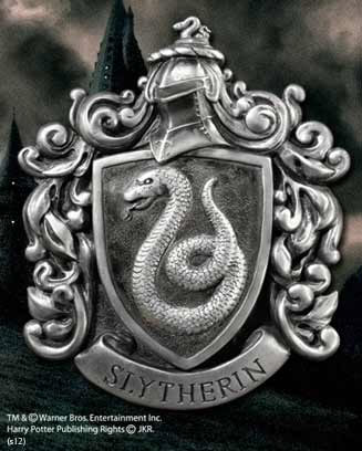 Harry Potter Wall Art Slytherin House Crest 21 x 28 cm