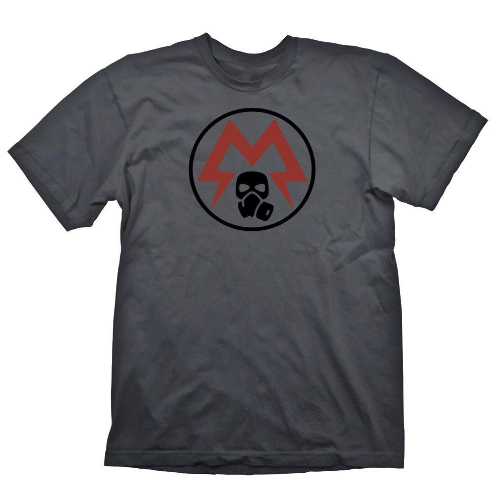 Metro Exodus T-Shirt Spartan Logo Size M