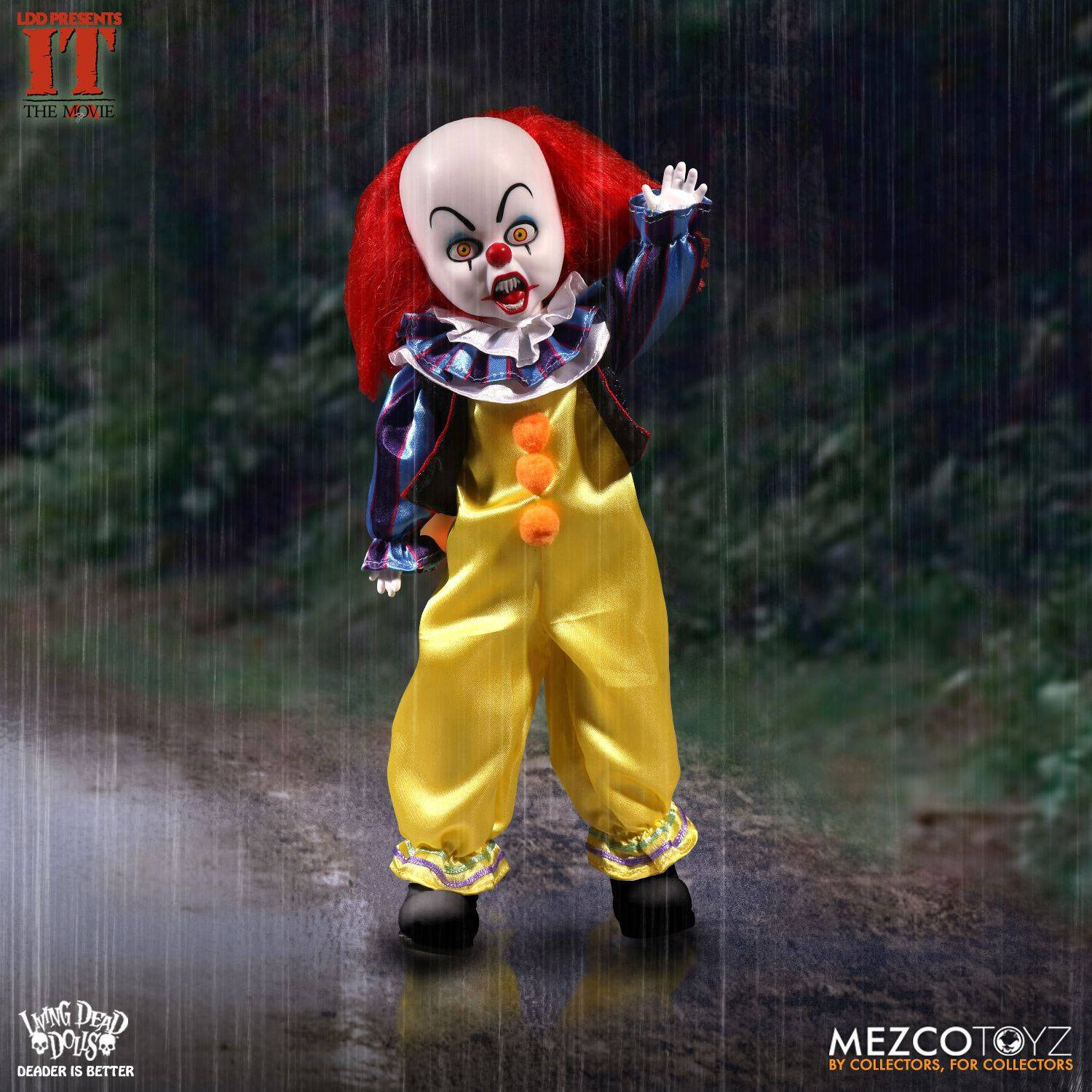 It Living Dead Dolls Doll Pennywise 25 cm