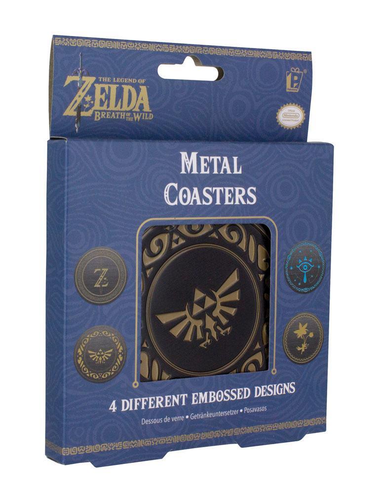 Legend of Zelda Breath of the Wild Coaster 4-Pack