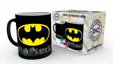 DC Comics Heat Change Mug Batman Logo