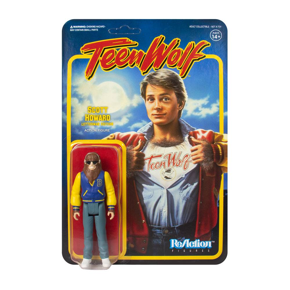 Teen Wolf ReAction Action Figure Teen Wolf Werewolf 10 cm
