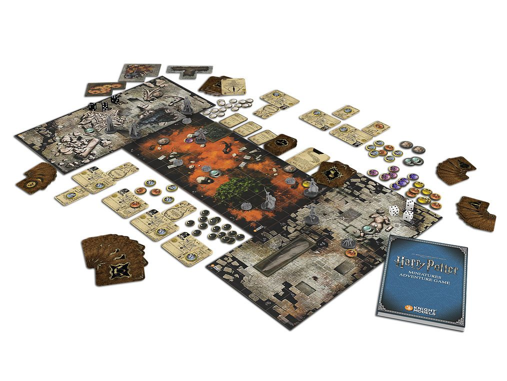 Harry Potter Miniatures Adventure Game *English Version*