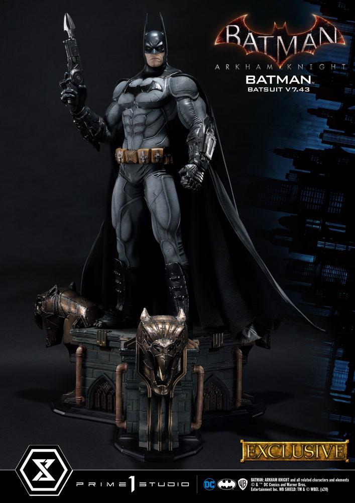 Batman Arkham Knight Statues 1/3 Batman Batsuit v7.43 Regular & Exclusive 86 cm Assortment (3)