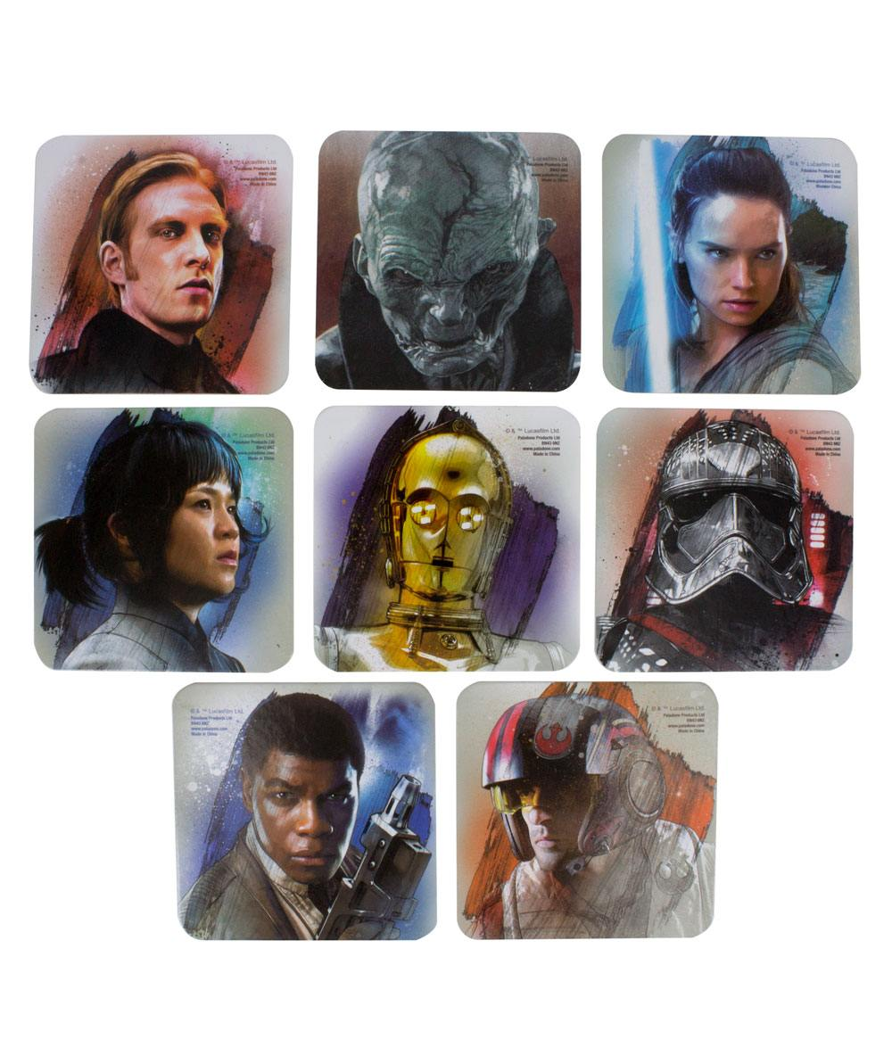 Star Wars Episode VIII Coaster 8-Pack