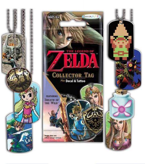 Legend of Zelda Collector Tag Fun Packs Display (24)