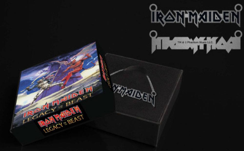 Iron Maiden Legacy of the Beast Pendant & Necklace Emblem