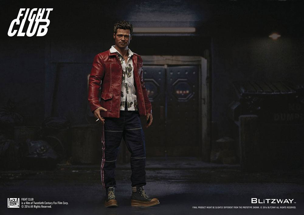 Fight Club Action Figure 1/6 Tyler Durden (Brad Pitt) Red Jacket Ver. 30 cm