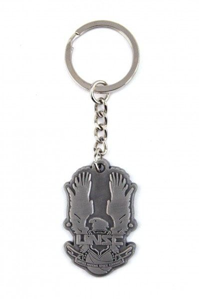 Halo 4 Metal Keychain UNSC Logo