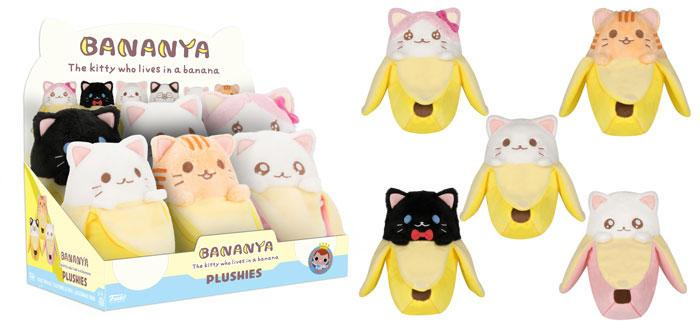 Bananya Plushies Plush Figure 18 cm Display (6)