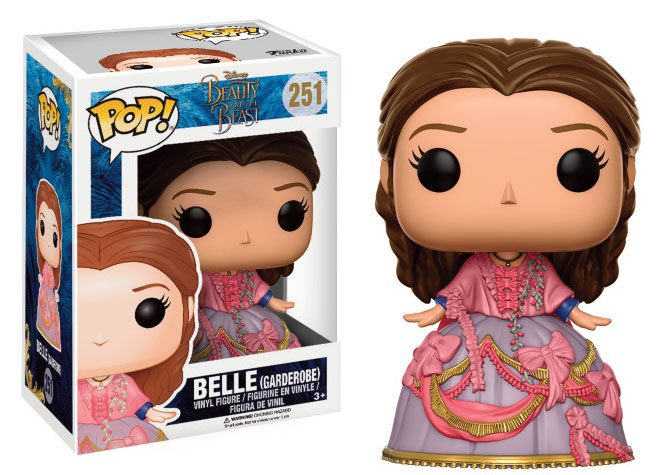 Beauty and the Beast POP! Disney Vinyl Figure Belle (Garderobe Outfit) 9 cm