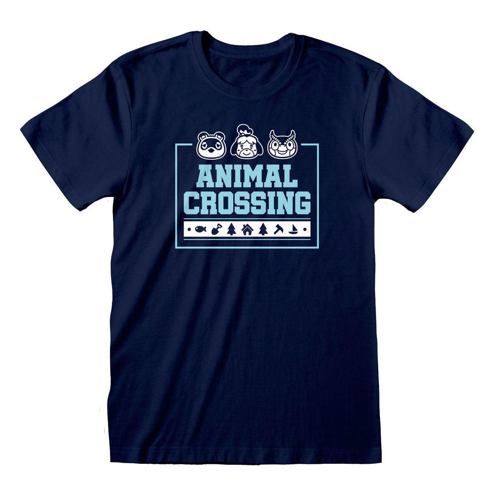 Animal Crossing T-Shirt Box Icons Size L
