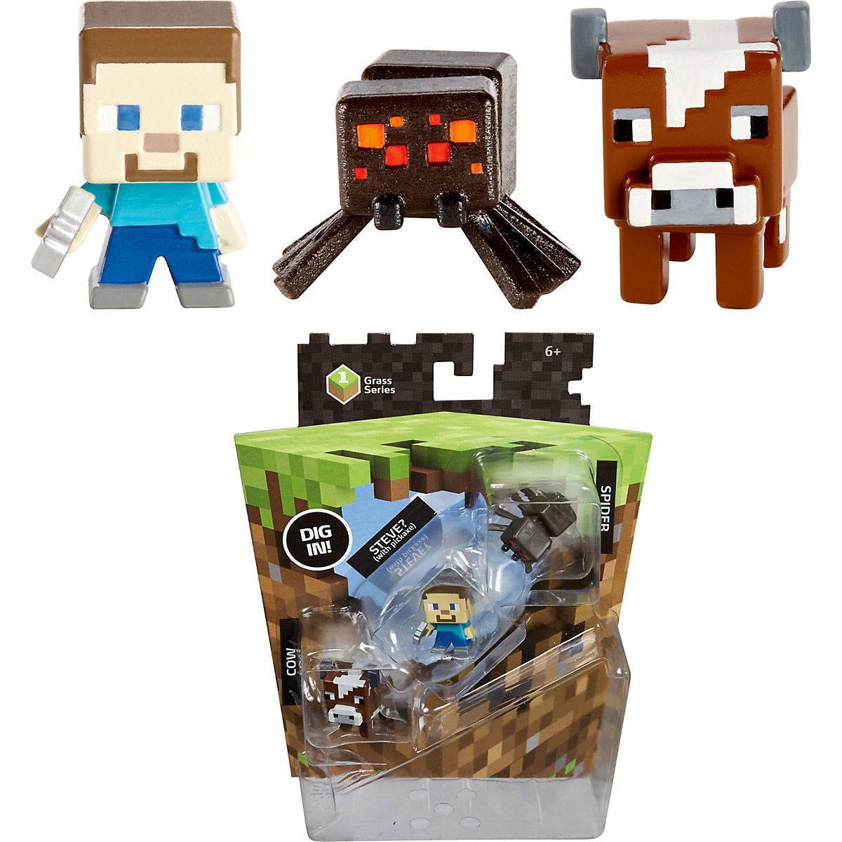 Minecraft Trading Figures 3-Pack 3 cm