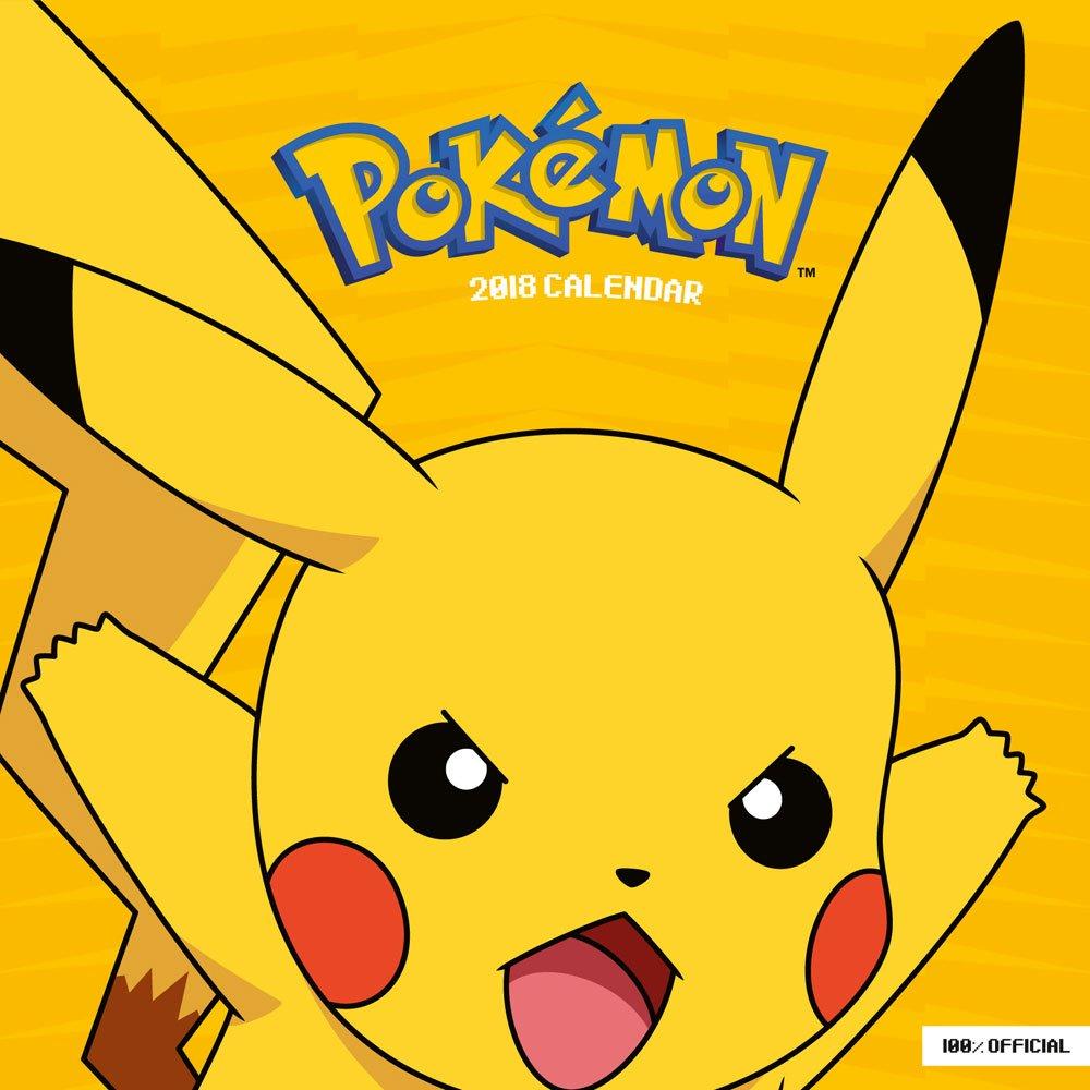 Pokemon Calendar 2018 English Version*