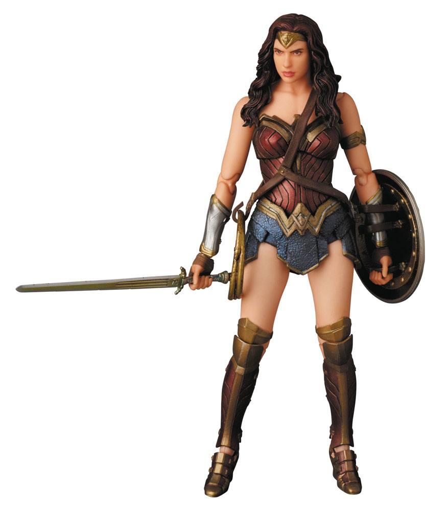 Batman v Superman Dawn of Justice MAF EX Action Figure Wonder Woman 15 cm