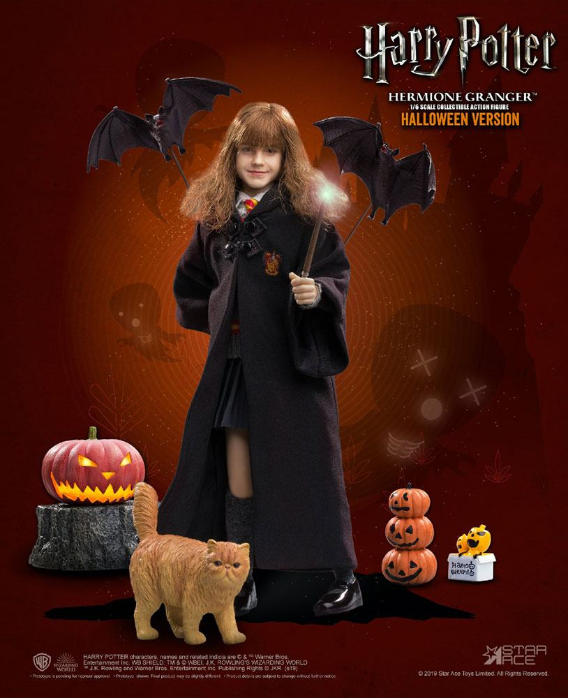 Harry Potter My Favourite Movie Action Figure 1/6 Hermione Granger (Child) Halloween Limited Edition