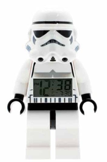 Lego Star Wars Alarm Clock Stormtrooper --- DAMAGED PACKAGING