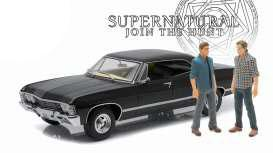 Supernatural Diecast Model 1/18 1967 Chevrolet Impala Sport Sedan with 2 figures