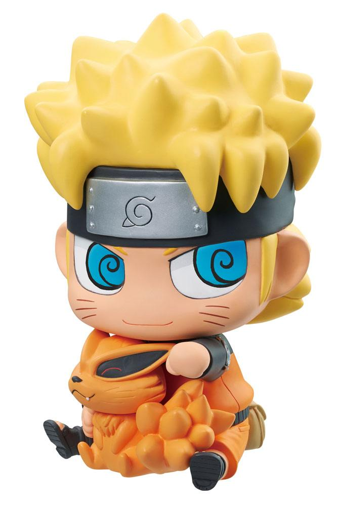 Naruto Shippuden Vinyl Mascot Figure Naruto & Kurama 15 cm