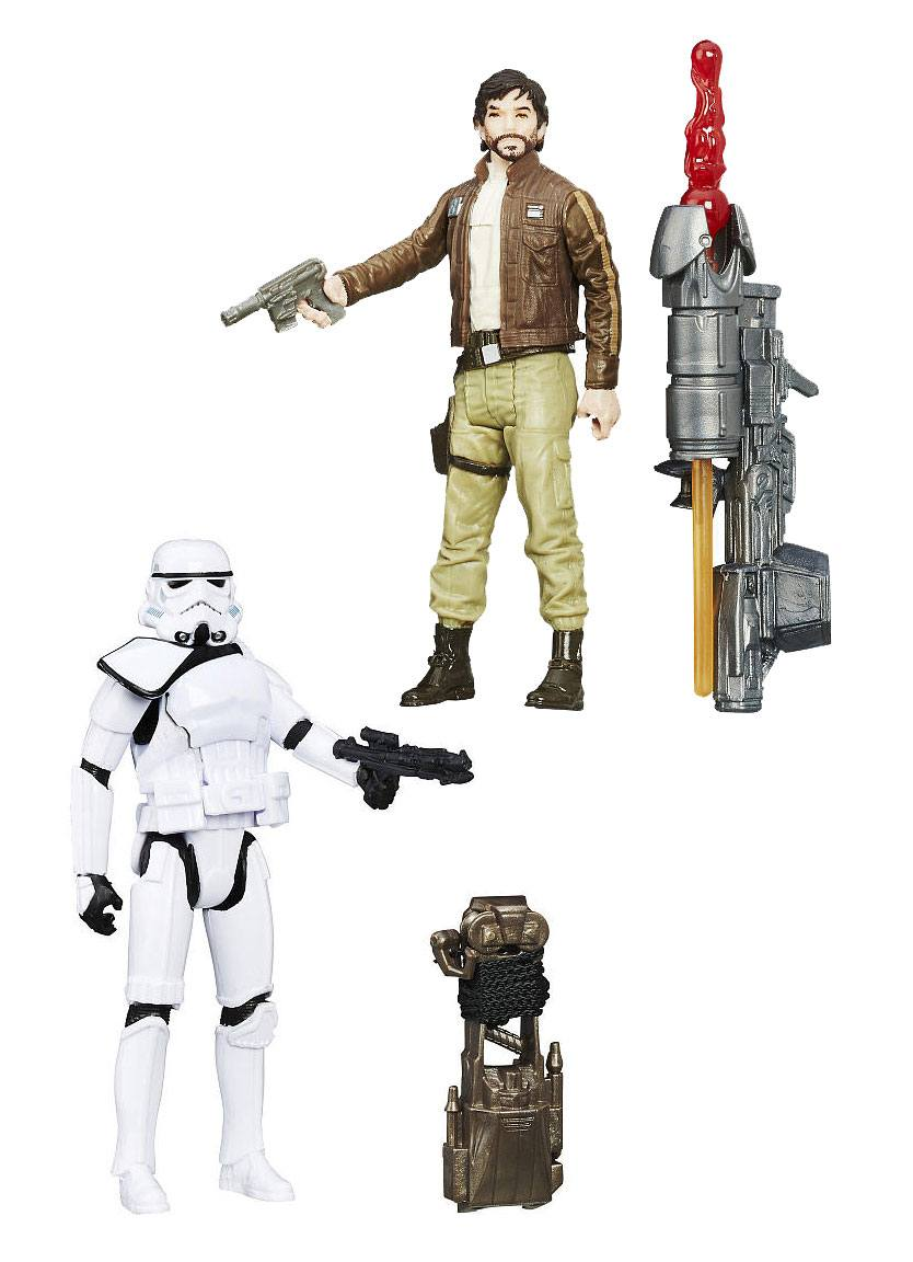 Star wars rogue one: battle figuren 2-pack