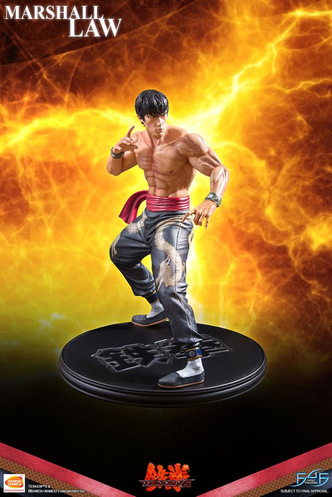 Tekken 6 Statue 1/4 Marshall Law 43 cm