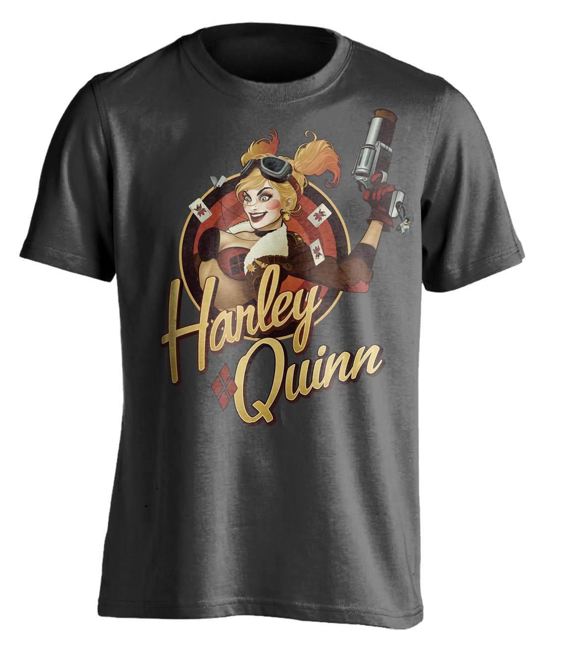DC Comics Bombshells T-Shirt Harley Quinn Size XL