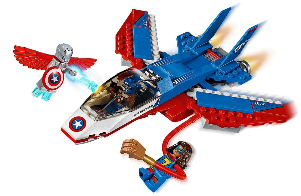 LEGO® Marvel Super Heroes™ Avengers Captain America Jet Pursuit