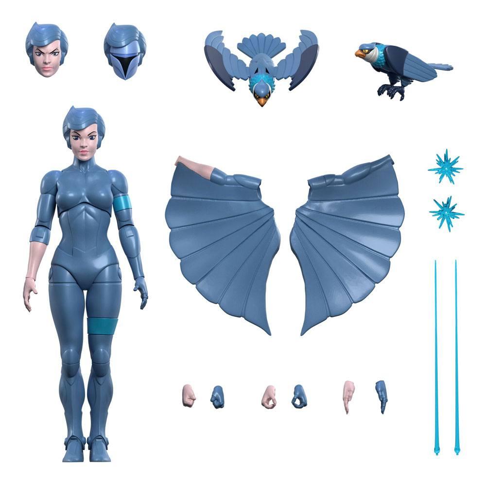 SilverHawks Ultimates Action Figure Steelheart 18 cm