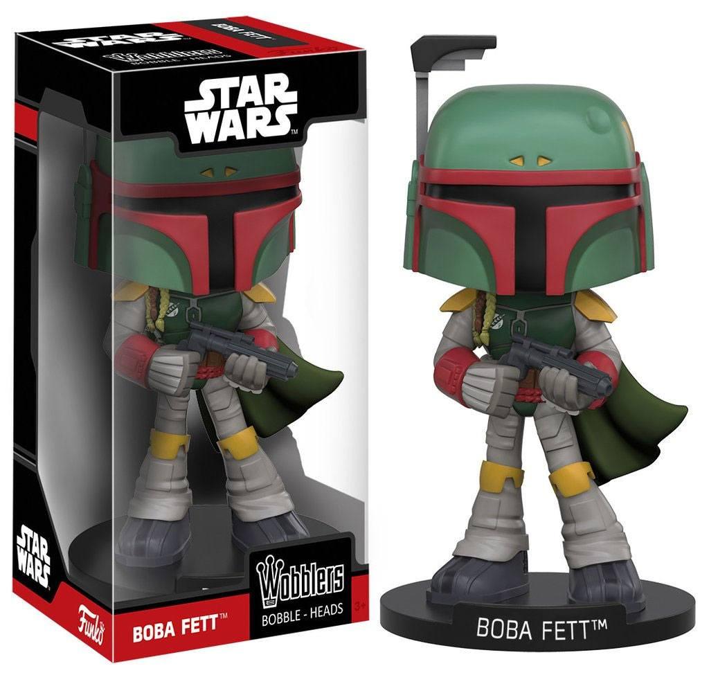 Star Wars Wacky Wobbler Bobble-Head Boba Fett 15 cm