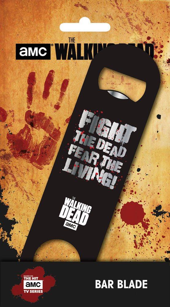 Walking Dead Bar Blade / Bottle Opener Fear the Living 12 cm