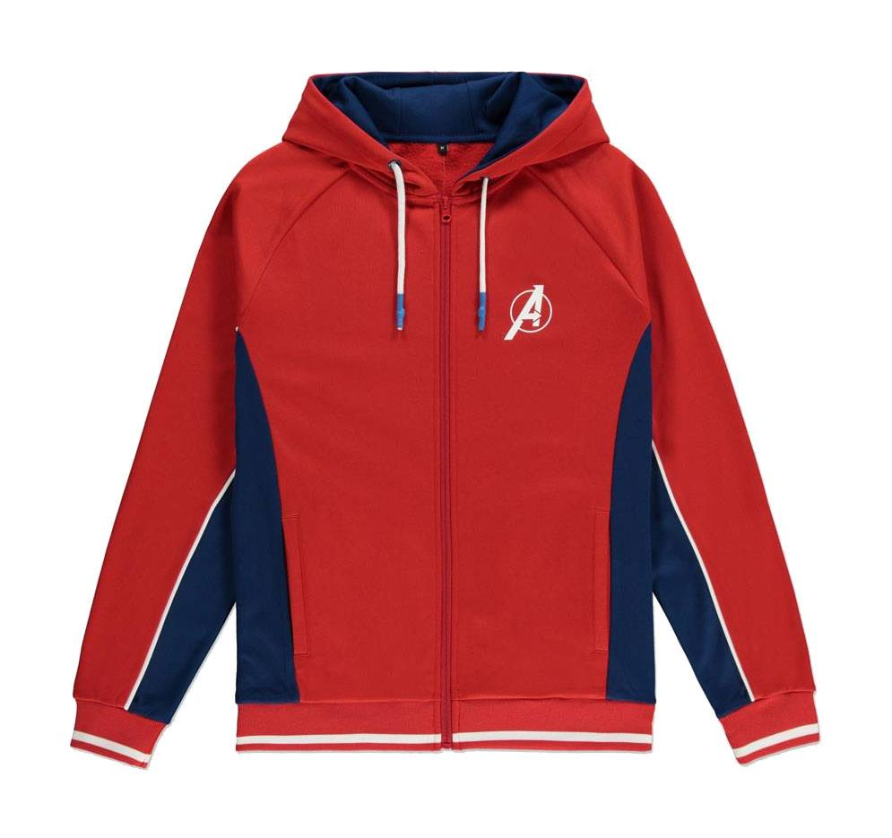 Avengers Hooded Sweater Interlaced Logo Size L