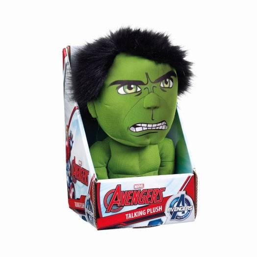 Marvel Talking Plush Figure Hulk 23 cm *English Version*