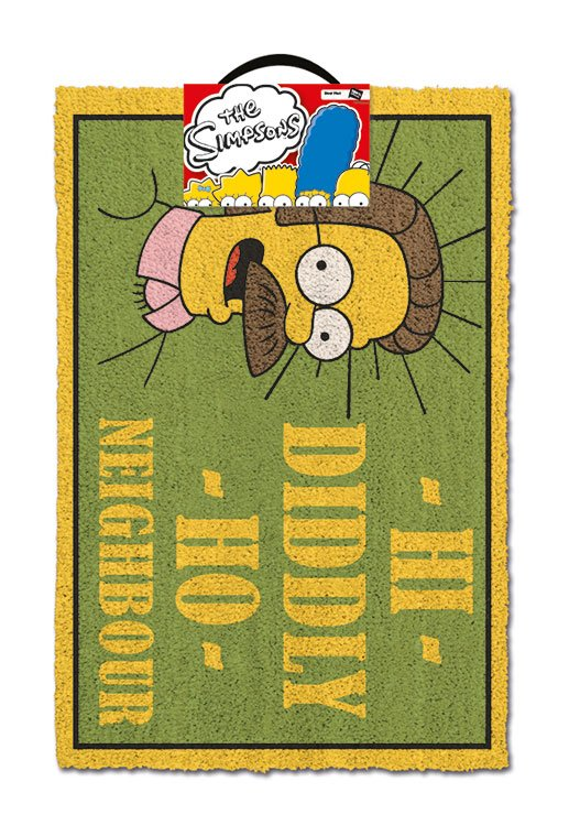 Simpsons Doormat Hi Diddly Ho Neighbour 40 x 60 cm