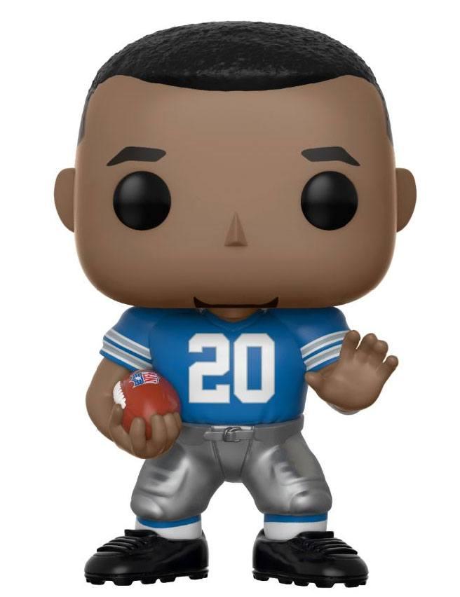 NFL POP! Football Vinyl Figure Barry Sanders (Detroit Lions) 9 cm