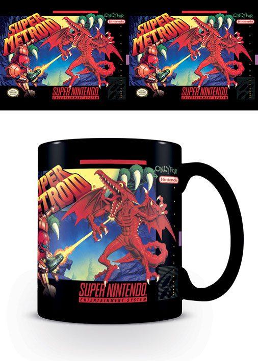 Super Nintendo Mug Super Metroid
