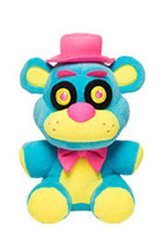 Five Nights at Freddy's Plush Figure Neon Freddy 15 cm