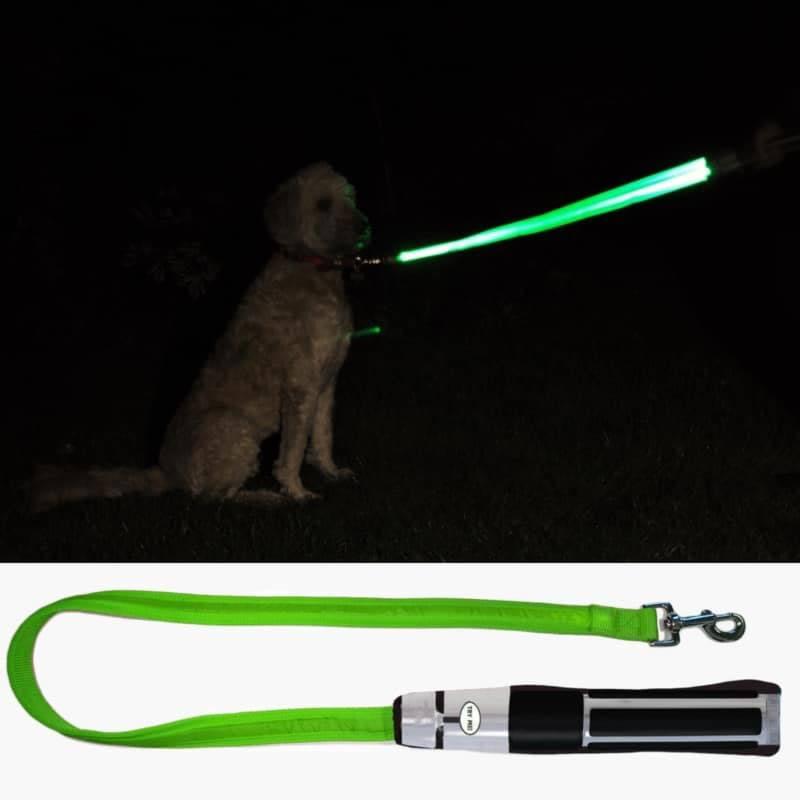 Star Wars LED Dog Lead Yoda Lightsaber