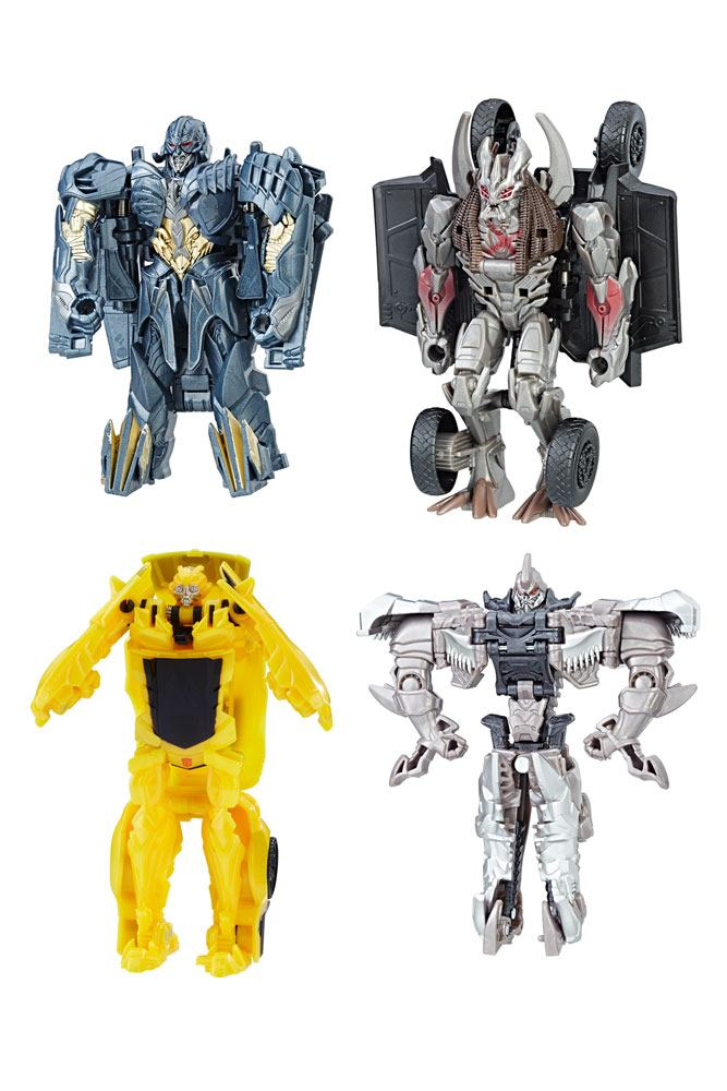 Transformers The Last Knight Turbo Changers Action Figures 11 cm 2017 Wave 2 Sortiment (8)