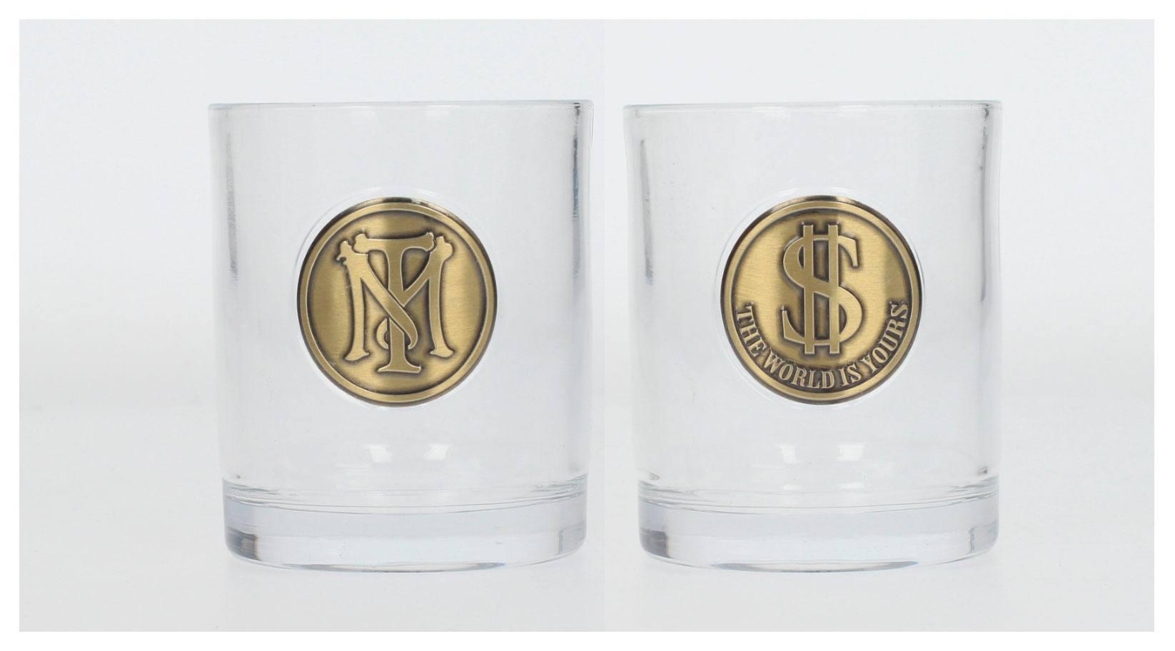 Scarface Whisky Tumblers 2-Pack Tony Montana Logo