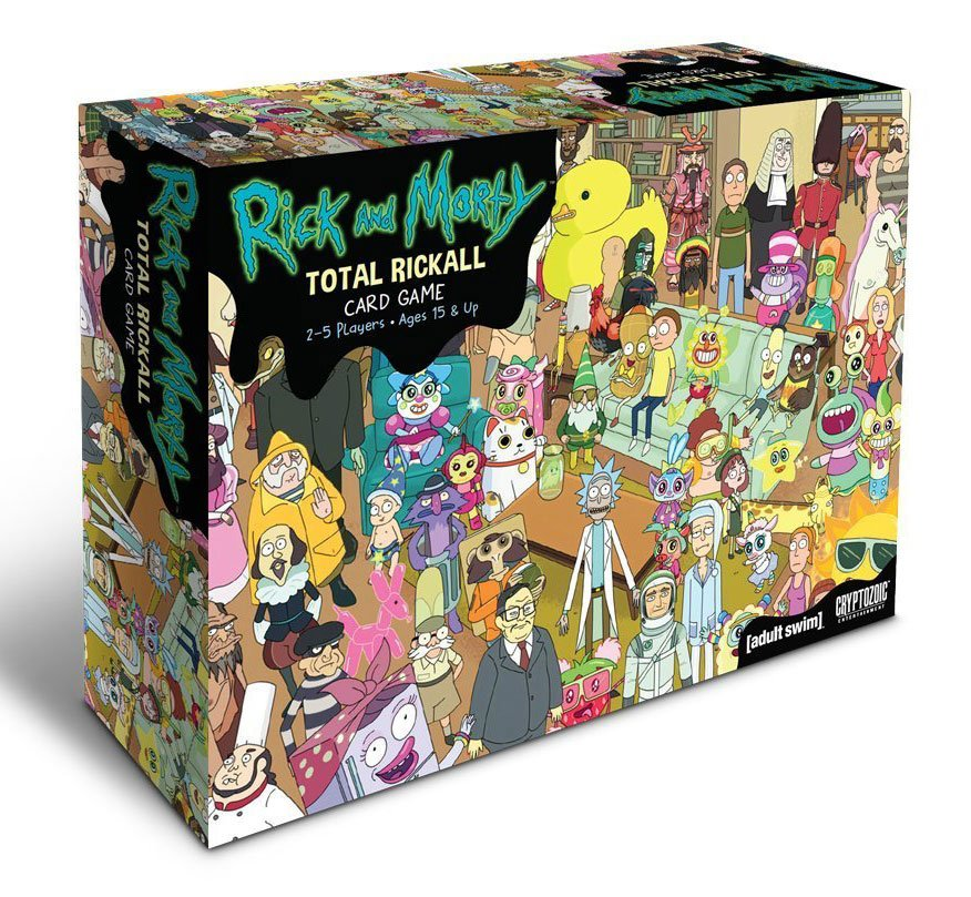 Rick and Morty Cooperative Card Game Total Rickall *English Version*