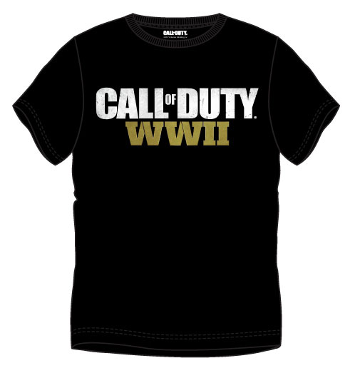 Call of Duty T-Shirt WWII Logo Size M