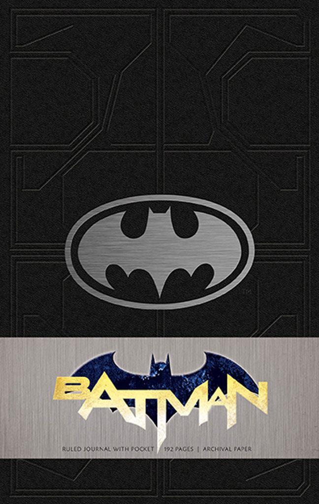 Batman Hardcover Ruled Journal Logo