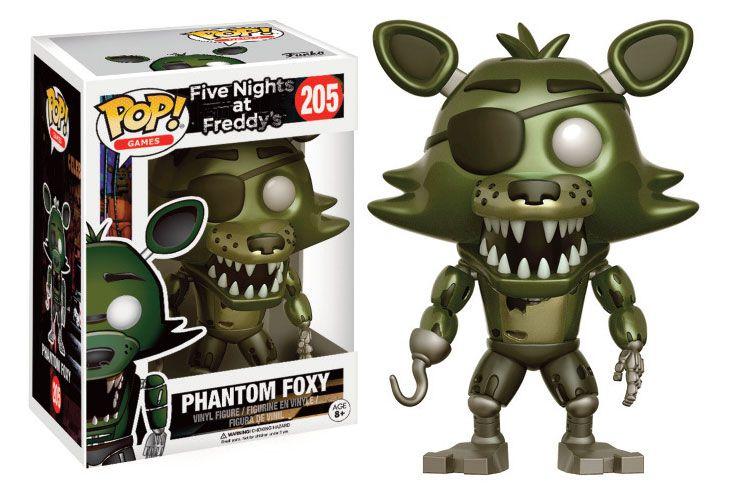 Five Nights at Freddy's POP! Games Vinyl Figure Phantom Foxy 9 cm
